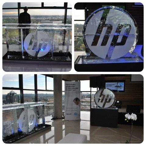 Ice Logo and Ice Bar