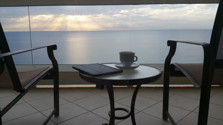 Taking it all In - Tea, Tablet, View!