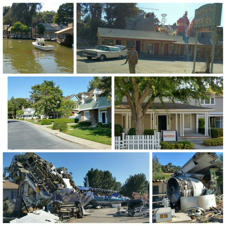 From Top Left: Jaws, Psycho, Desperate House and War of the Worlds Set